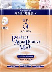 Mặt nạ Senka hỗ trợ cấp ẩm dưỡng trắng Mask Bouncy Bright