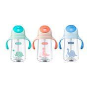 Bình nước nhựa Goki Dino 470ml cho trẻ em