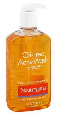 Sữa rửa mặt hỗ trợ ngừa mụn Neutrogena Oil-Free Acne Wash