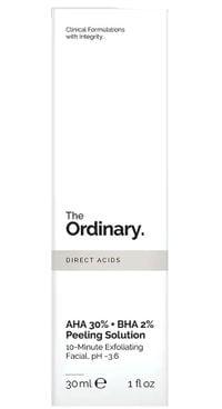 Tẩy da chết The Ordinary AHA 30% + BHA 2% Peeling Solution