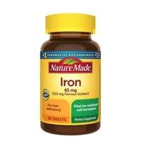 Viên uống hỗ trợ bổ sung sắt Nature Made Iron 65mg