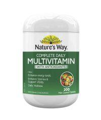Vitamin tổng hợp Nature's Way Complete Daily Multivitamin 200 viên