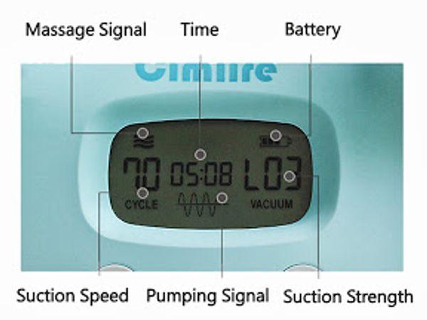 Màn hình hiển thị của máy hút sữa điện đôi Spectra s1