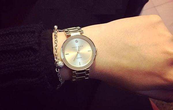 Đồng hồ Anne Klein Diamond nữ AK/1362RGRG vàng hồng 3