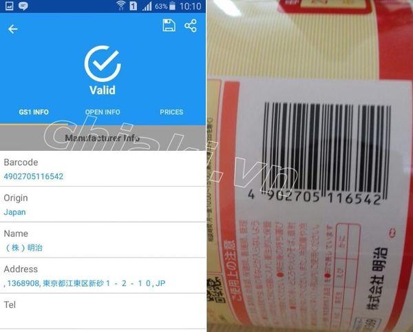 Cách phân biệt sữa Meiji số 0 chính hãng Nhật Bản