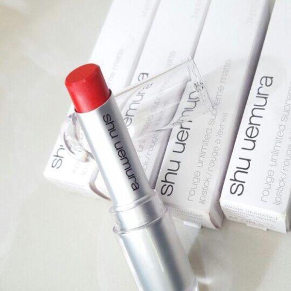 Son Shu 570 màu đỏ cam quyến rũ, sắc sảo và trẻ trung 2