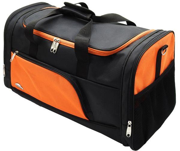 Túi du lịch KiTy Bags 0597BIG chống thấm nước màu cam - đen