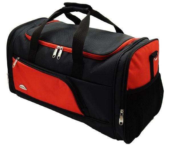 Túi du lịch KiTy Bags 0597BIG chống thấm nước màu đỏ - đen