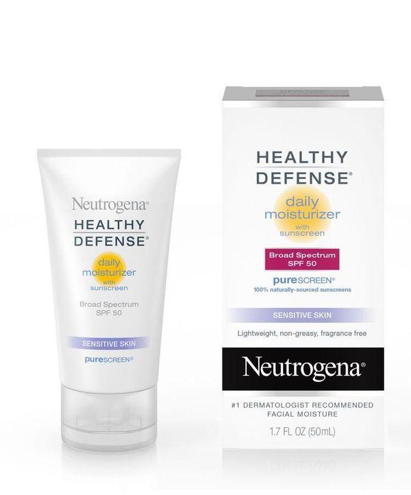 Kem chống nắng, dưỡng ẩm Neutrogena Healthy Defense SPF50 1