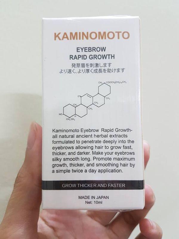 Dung dịch mọc lông mày Kaminomoto (Nhật Bản) 1