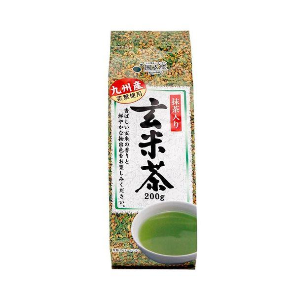 Trà xanh gạo lứt rang Nhật Bản gói 200g 1